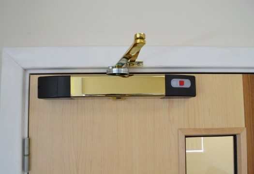 ... Agrippa sound activated fire door closer & Agrippa sound activated fire door closer | Manufactured by Geofire