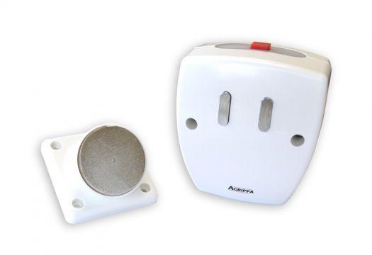 Agrippa sound activated fire door holder