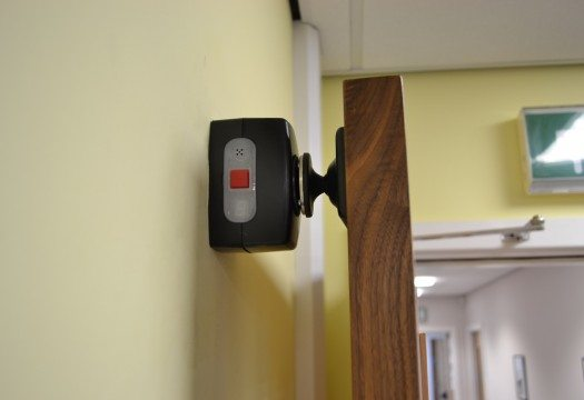 Agrippa sound activated fire door holder