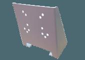 Floor mounting bracket