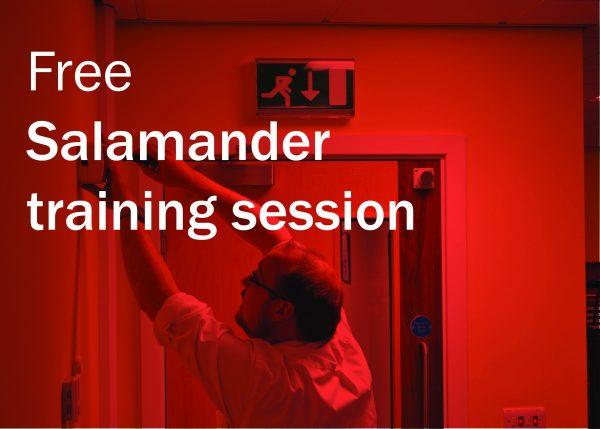 Free Salamander training session