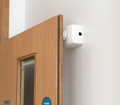 Geofireu0027s Salamander range provides fire door access solution for the NHS & Salamander Radio Controlled Fire Door System - Geofire