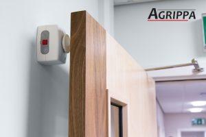 Magnetic door holder