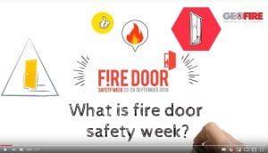 Fire safety, fire door safety